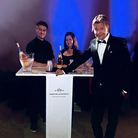 Classy Event Cube Table Top Champagen Bar Ultimate Bar
