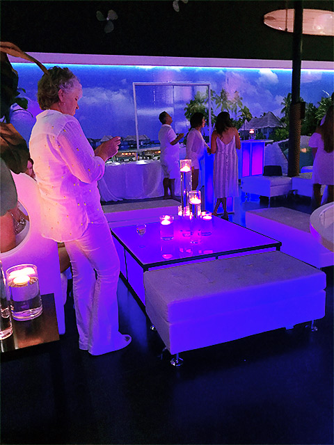 Ultimate Bars Dancefloor Light LEd Tables Event Cubes