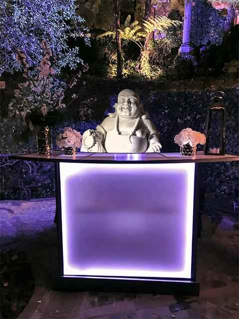 Ultimate Custom Portable Mobile Beverage Catering Event LED Light Up Banquet Bars Outdoor Folding Budda Bar