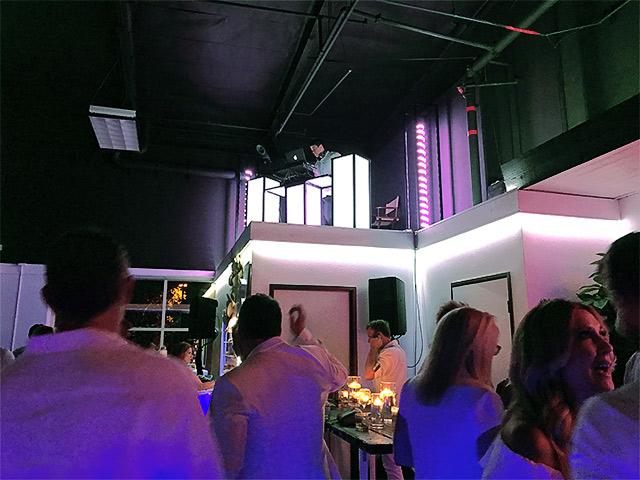 Ultimate Portabel Beverage Tables DJ Booth California