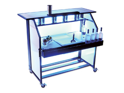 Ultimate Portable Bar Set UP Bartender Mobile Banquet Outdoor Party Bar
