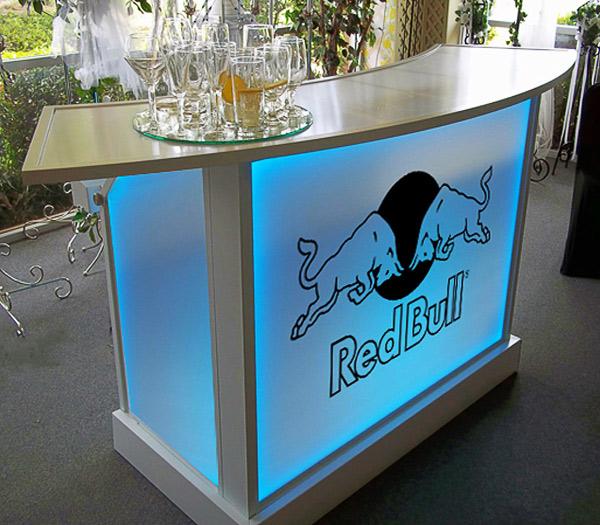 Ultimate Portable Light UP Bars Wheel Cover Skirt Logo Branding