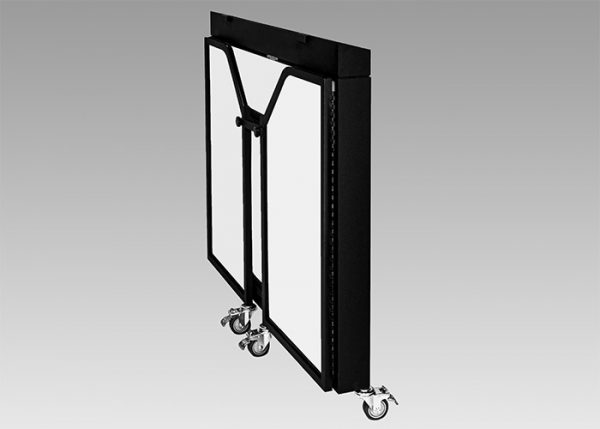 Ultimate Portable Bars | ubar convention bar folded