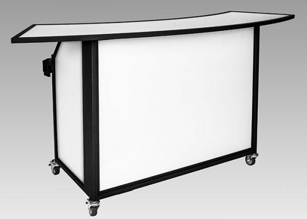 Ultimate Portable Bars | ubar convention bar front radius