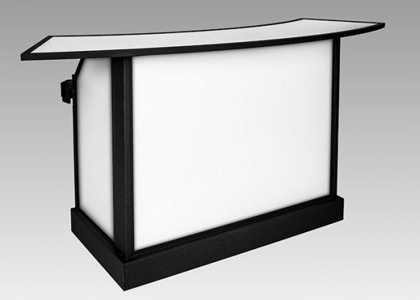 Ultimate Portable Bars | ubar convention bar radius wheelskirt