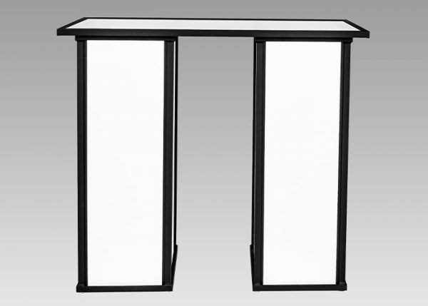 ultimate portable bars event cube top double straight